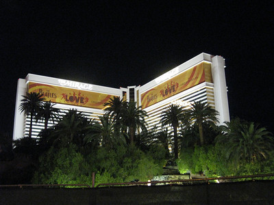 Our hotel, The Mirage. We saw The Love Show here. It was amazing!!!