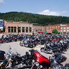 We also passed through Deadwood, South Dakota.  This town is near Sturgis, so the concentration of Harleys was very high.  This is the closest we came to Sturgis.