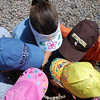 Jack and I bought hats in Jackson Hole.  The girls made their own hats at home earlier this summer.