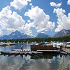 The marina at Colter Bay, Grand Teton NP.  Wouldn't this picture make a great jigsaw puzzle?