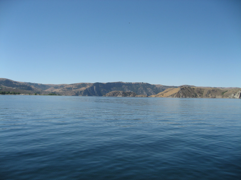 From the Keller ferry on Lake Roosevelt.
