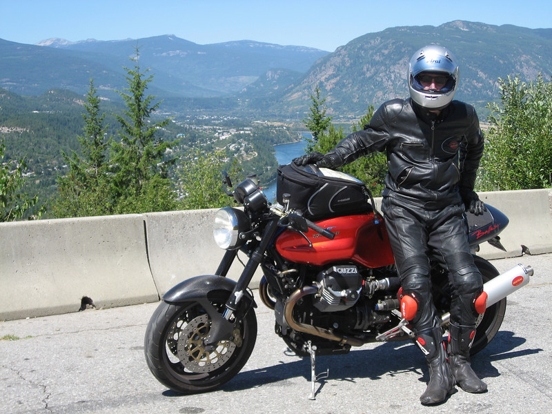 Over Castlegar, BC on the way to Salmo, BC on the Crow's Nest Highway.
