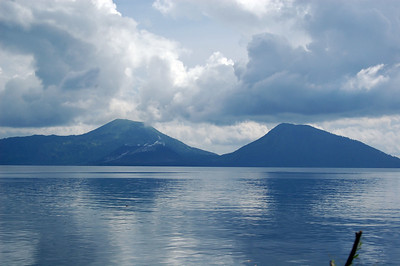 Distant View of the Volcanoes