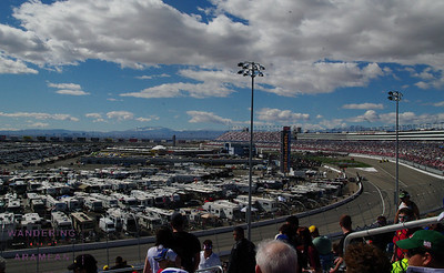 Race Day at the Las Vegas Motor Speedway