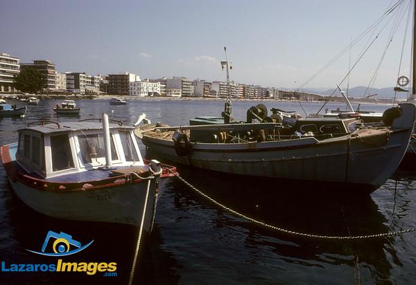 Harbor, Loutraki, Greece