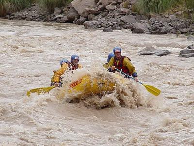 Rafting - Mendoza, Argentina - 21 Feb 2004