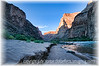 This is one of the beaches on which we camped during our rafting trip through the Grand Canyon in Arizona; the detail in this imabe is best viewed in a larger size.