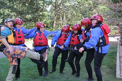 Rafting the White Salmon