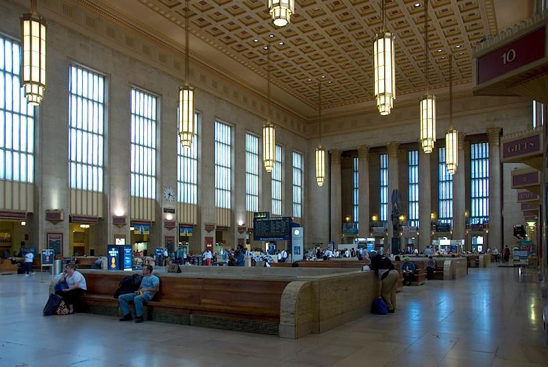 Amtrak's 30th Street Station, Philadelphia