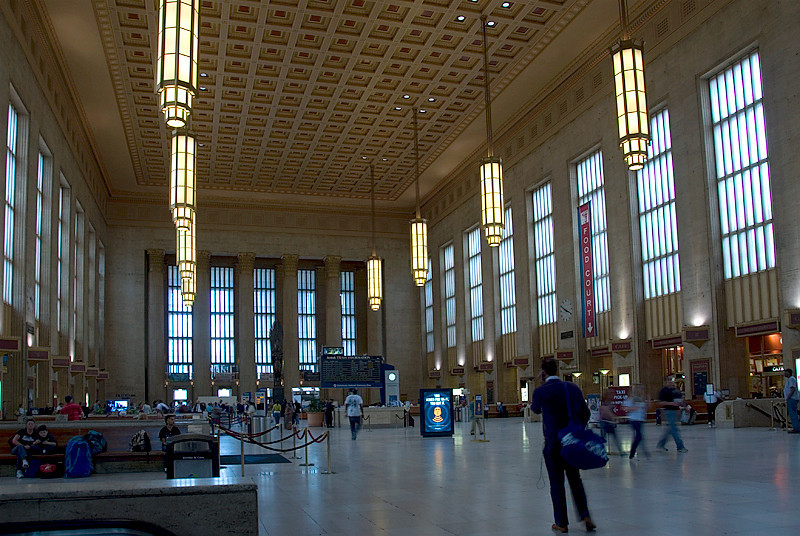 Amtrak's 30th Street Station, Philadelphia