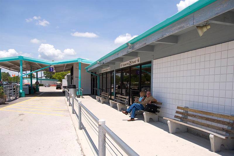 Amtrak's Auto Train Sanford Florida station