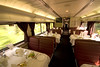 Amtrak's Auto Train dining car