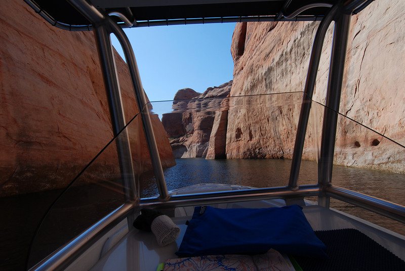 This canyon got very narrow half way in.