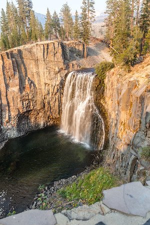 Rainbow Falls, Mammoth Lakes