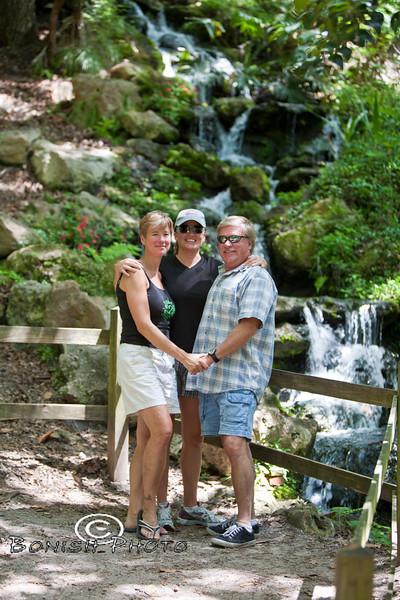 Karen, Cindy and Scott enjoying Rainbow Springs State Park - Photo by Pat Bonish