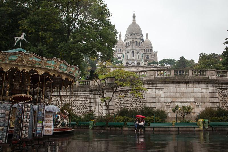 Still beautiful, even in the rain