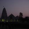 Birla Mandir just after dusk
