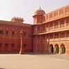 Jaipur palace courtyard
