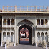 Entrance to the Jaipur palace