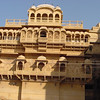 Jaisalmer fort, the mens viewing balconies. They are open.