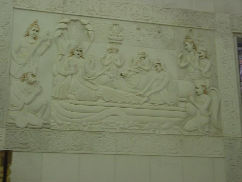 Carving at Birla Mandir, Jaipur