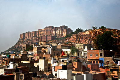 Situated 400 feet above the city, this majestic fort can be seen from anywhere in the old city