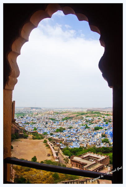 Mehrangarh Fort, Jodhpur (The Blue City)