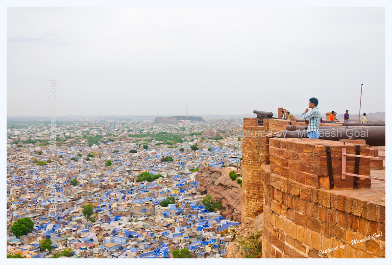 Wonder | Mehrangarh Fort, Jodhpur (The Blue City)