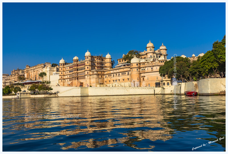 City Palace Complex - located on the banks of Lake Pichola, Udaipur