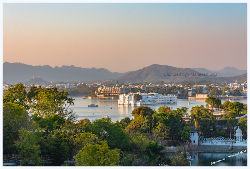 Lake Palace, built on an island in Lake Pichola - operated as a hotel by the Taj Group in Udaipur