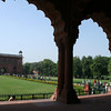 Delhi's Red Fort built by Shah Jahan, the ruler who built the Taj.