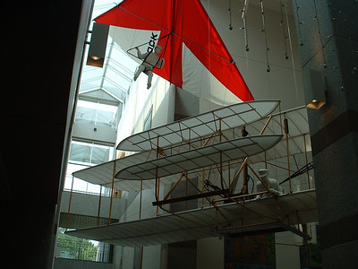 June 2005 - Raleigh, North Carolina - downtown trip to museum (inside) - Wright Bros.