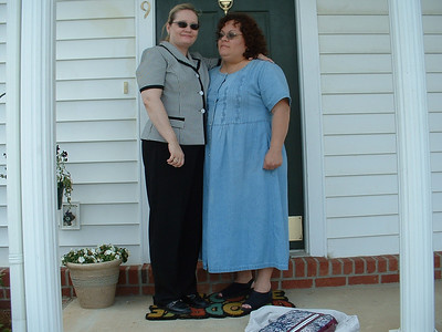 June 2005 - Raleigh, North Carolina - me and Lynn