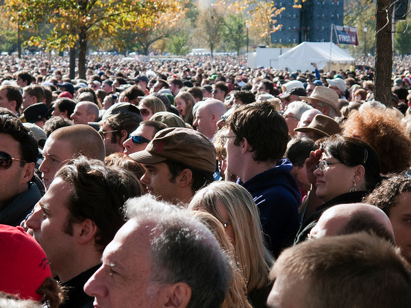 Rally to Restore Sanity - so that's what 215,000 people looks like.