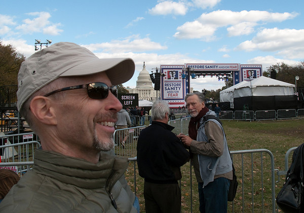 Self-portrait - The closest I ever got to the stage