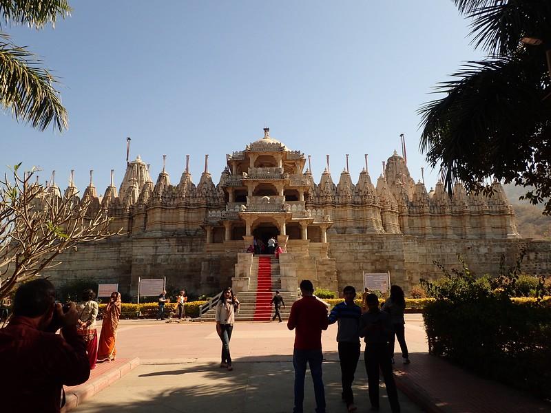 Ranakpur Jain Temple, finished in 1458