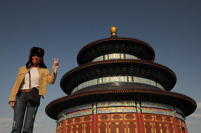 Randa visits China!