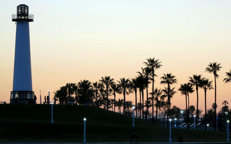 Dusk in Long Beach