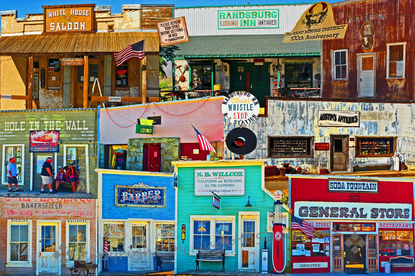 Randsburg Collage