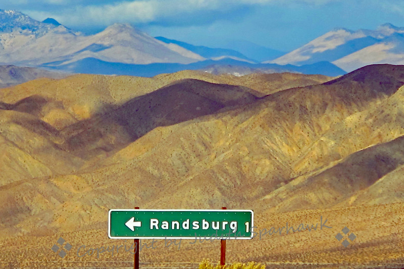 The Randsburg Sign