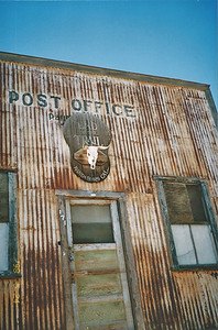 3/24/98 Randsburg post office.