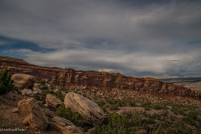 Colorado National Monument near Grand Junction Colorado.