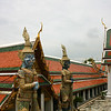 amazing tiled roof and statues