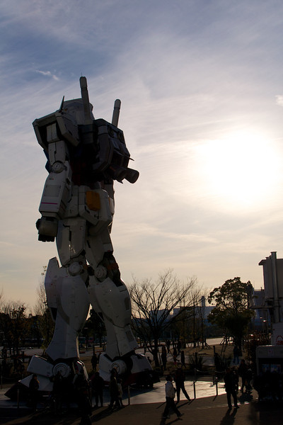 Real Scale Gundam in Tokyo
