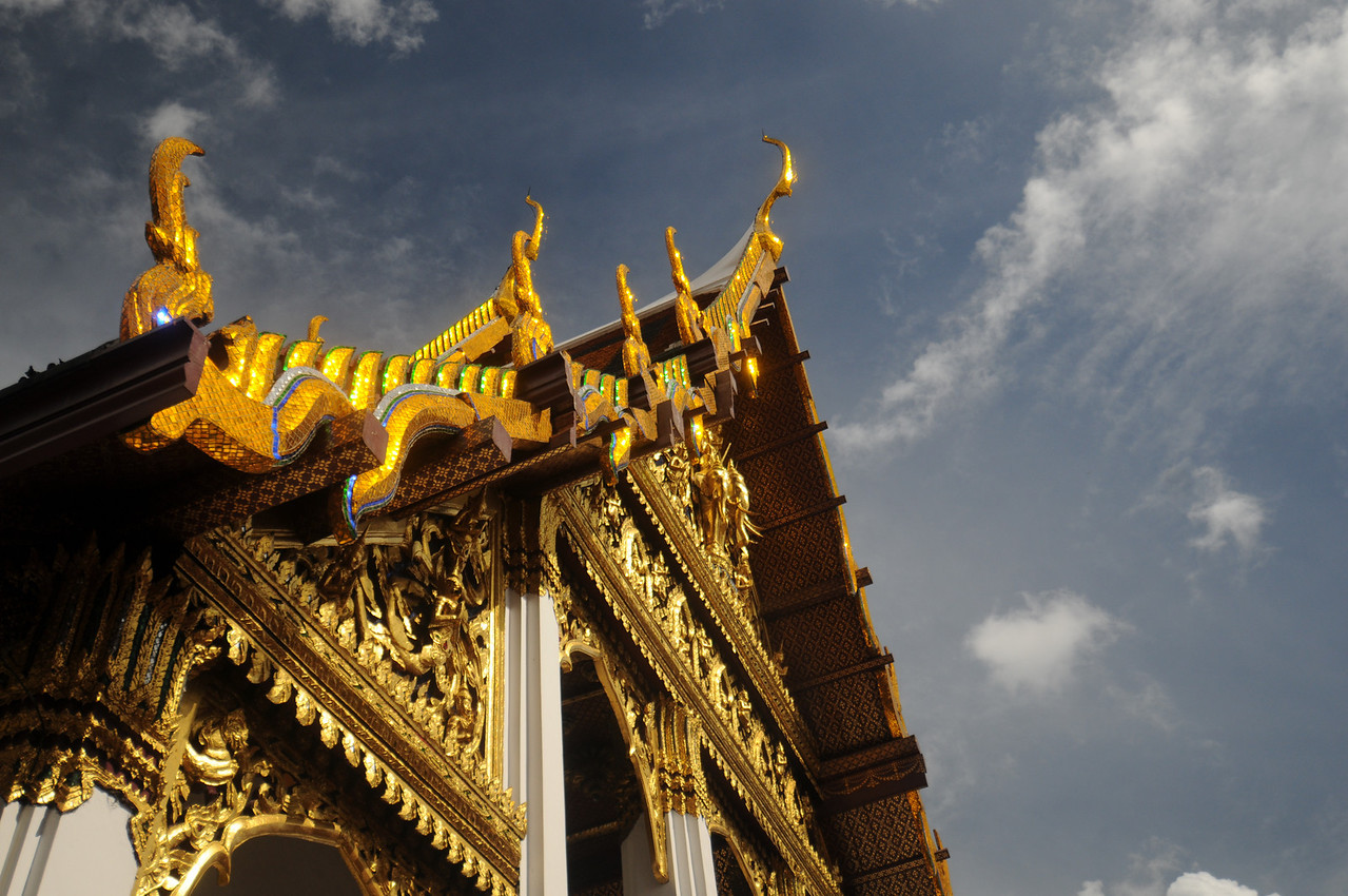 The Grand Palace complex in Bangkok.
