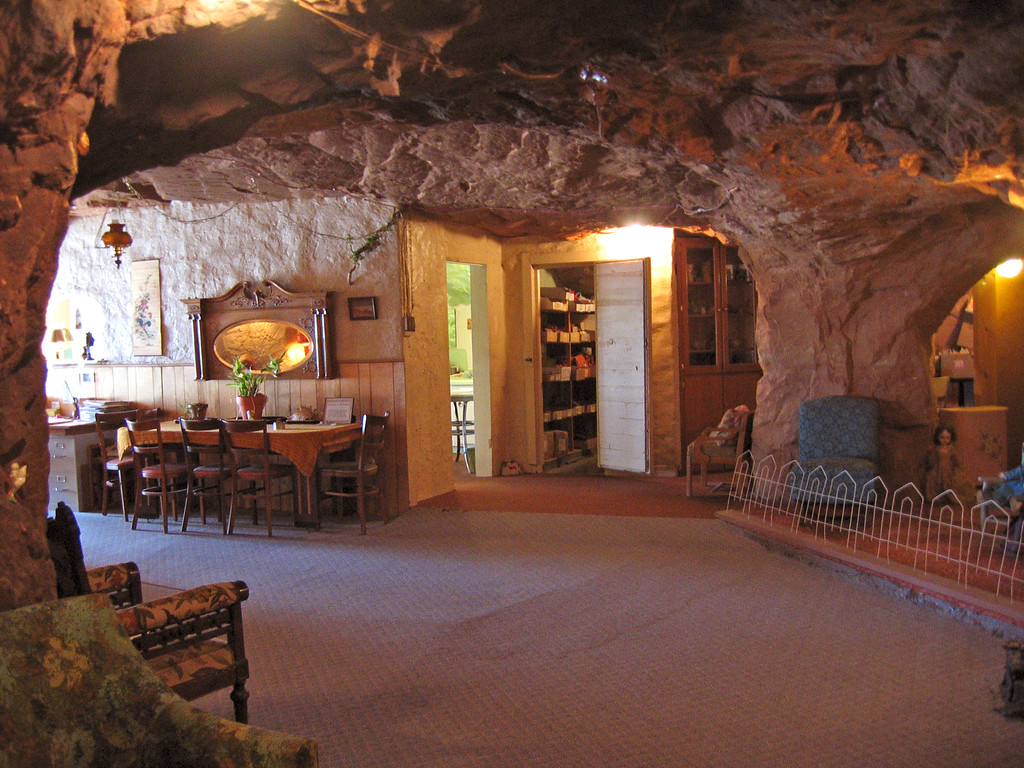 5000 sq ft inside Hole in the Rock house