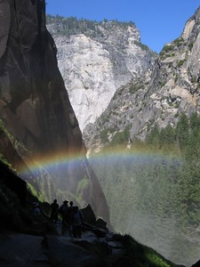 Valley view rainbow, Yosemite