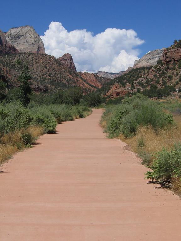 Zion Valley walk, UT