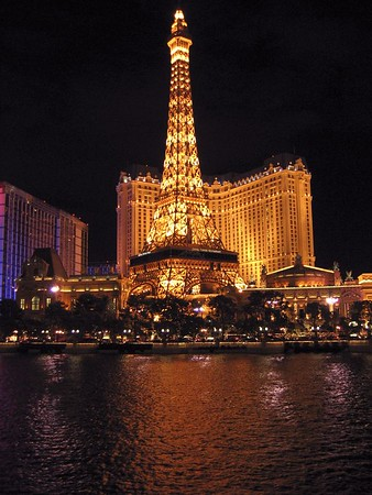 Lake Bellagio in Paris, Las Vegas