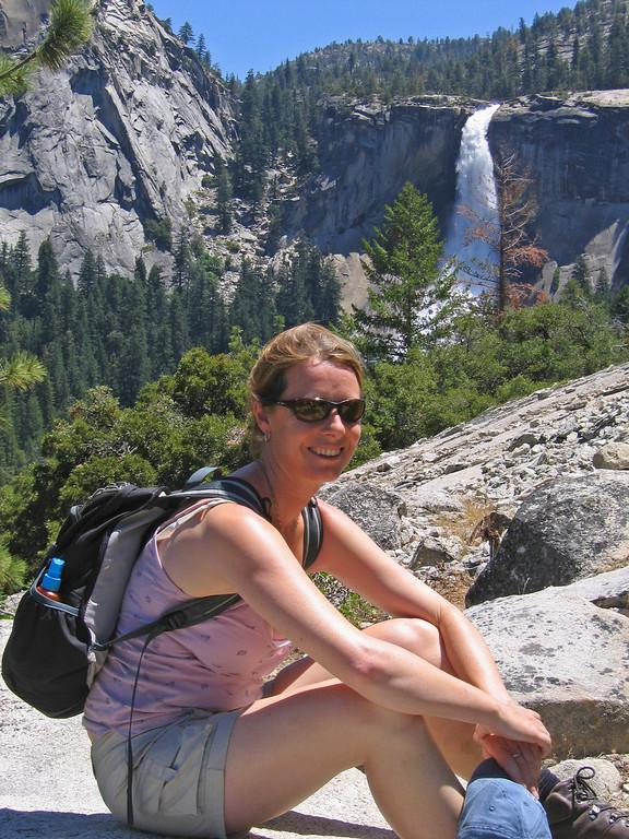 Sarah and Nevada Falls,Yosemite